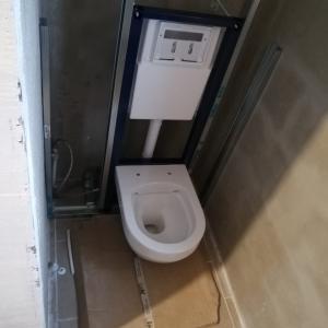バスルームの内装工事