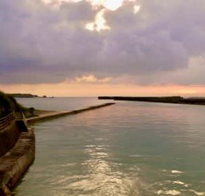 なんやかんやで初めての沖縄 第二日 安田(あだ)集落の朝
