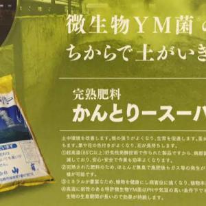 【YM菌】かんとりースーパー20kgの販売価格が大幅にお安くなりました!!