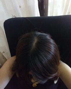過去一番明るい髪色に!!ヘアカラー10A★一応白髪染めです。