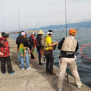 上島杯の私の「落とし込み釣り教室」について