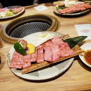 家族と1年の慰労会、焼肉「明月館」の肉は最高でした。