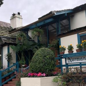 カーメル グルメ:B&Bの朝食 Normandy Inn Carmel(ノルマンディー イン カーメル)
