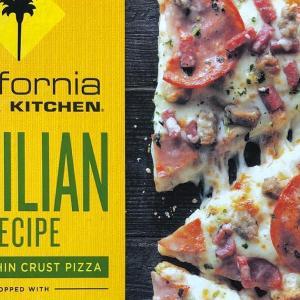 手頃で美味しいカリフォルニアピザキッチンの冷凍ピザ Sicilian Recipe(シシリアン レシピ)