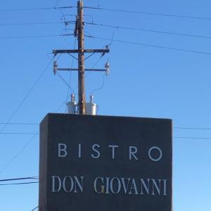 ナパ グルメ:観光客に人気のイタリアン Bistro Don Giovanni(ビストロ ドン ジョヴァンニ)