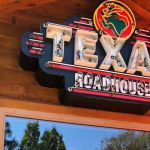 キャピタル・ゲインでステーキ@Texas Roadhouse(テキサス ロードハウス)