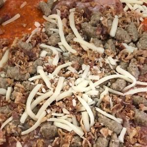 山火事大気汚染で巣ごもり中!お気に入りの焼くだけミートピザ