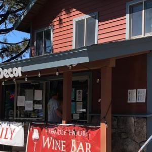 レイクタホ グルメ:絶景が望めるワインバー The Idle Hour Lake Tahoe(アイドル アワー レイクタホ)