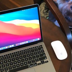 X'masプレゼントのMacBook Airが到着