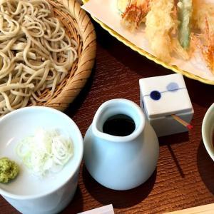 「箱根 暁庵」銀座三越店で炭水化物控えめの蕎麦ランチ