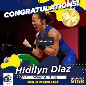 フィリピン 五輪初の金メダル