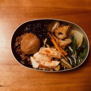 鶏ハムケッチャプ弁当