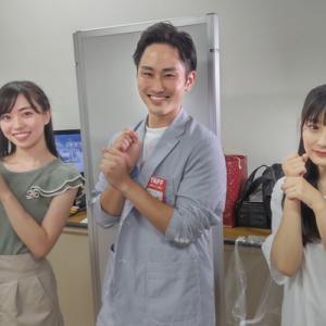 【HKT48】リクエストアワー2021でアナウンサーの渡辺敬大がメンバーにインタビュー