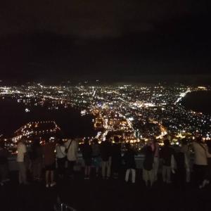小学校の修学旅行@函館山夜景