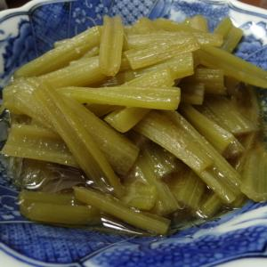 山菜 天然 フキ 煮物 蕗
