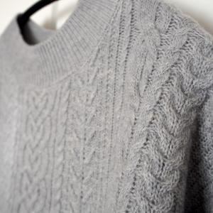 理想のセーターを手に入れた!北欧、暮らしの道具店