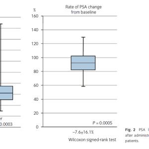 血清前立腺特異抗原値に対するセルニルトンの効果