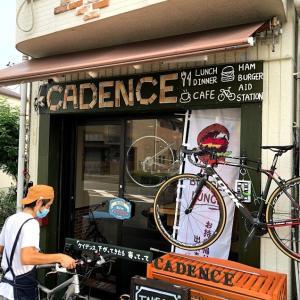 CADENCE(ケイデスンス)さん、ハンバーガー食べに行く