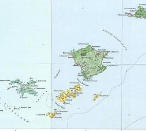 歯舞群島の地質図(まとめ)