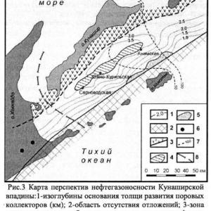 国後海淵の原油・天然ガス鉱床