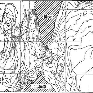 宗谷トンネルの地質その3(地形図)