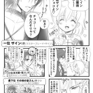 バレンタイン企画★創作男性キャラ人気投票結果漫画