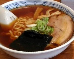 うえんで食堂 - 中華そば 並 普通麺@会津若松市