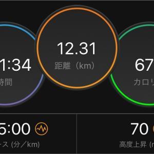 高湿度ジョグ【2019/09/09夜ラン】
