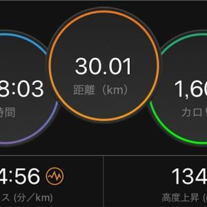 30km走開始【2019/09/12夜ラン】