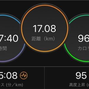 No GPS【2020/05/22夜ラン】