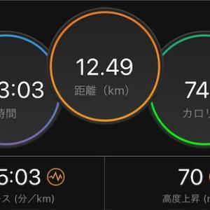 60分Eペースジョグ【2020/06/03朝ラン】