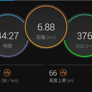 疲労抜きジョグ【2021/05/05朝ラン】