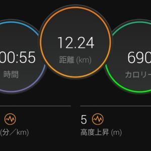 Eペースジョグ【2021/05/07夜ラン】