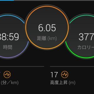 疲労抜きジョグ【2021/05/14夜ラン】