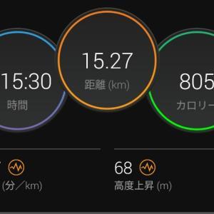 ランオフ明けEペースジョグ【2021/05/19夜ラン】