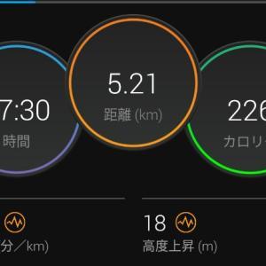 自転車がパンク【2021/06/02夜ラン】