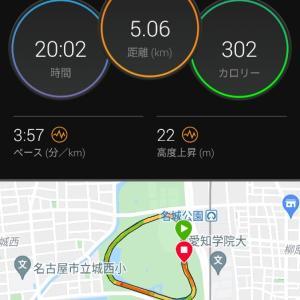 閾値走【2021/06/05午前ラン】