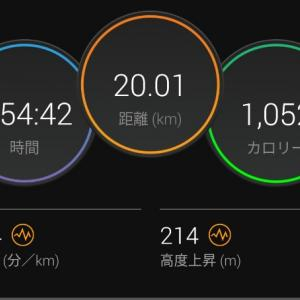 180分走れず【2021/06/06午後ラン】