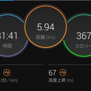 ゆるジョグ【2021/06/12朝ラン】