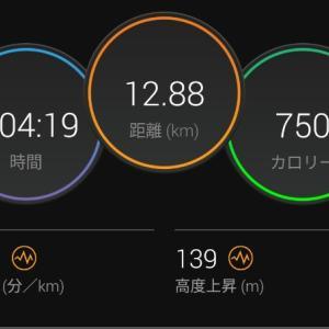 起伏でEペース【2021/06/24夜ラン】