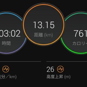 Eペースジョグ【2021/08/03夜ラン】