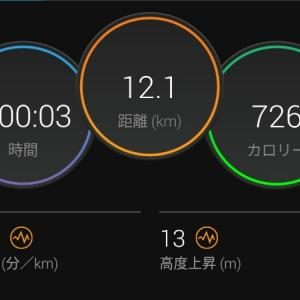 苦しくてもEペースジョグ【2021/08/05夜ラン】