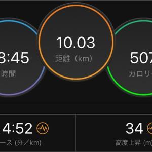 Eペース走【2019/08/06夜ラン】