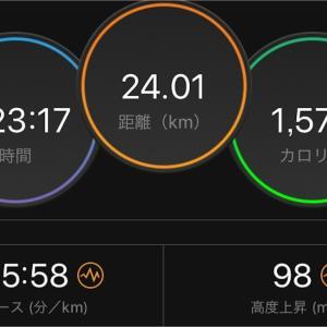 帰宅ラン【2019/08/22夜ラン】