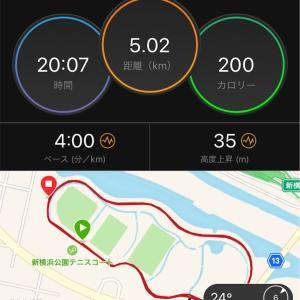 秋の閾値走【2019/09/04夜ラン】