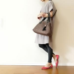 リブレギンス到着♪これ1枚で上品&今年っぽい30代ママのスカートファッションに☆