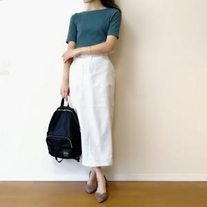 """30代ママに似合う☆きれいめカジュアルな""""ミモレ丈スカート""""コーディネート♪"""