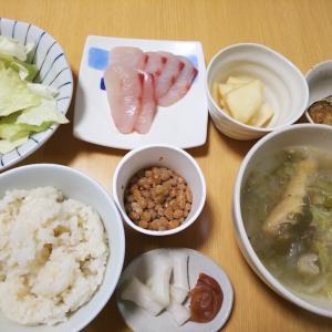 サムゲタン風スープの夜ごはん