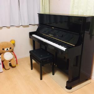 ピアノ購入!レッスン始動しました^ ^