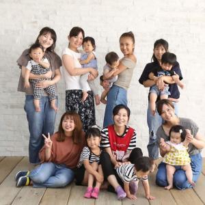 【開催レポ】娘の職業体験。写真スタジオでベビーマッサージ!